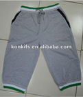 knit sports pant with cotton fabirc made in Guangzhou