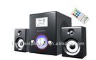 2.1 USB SD /MMC & remote control Speaker ,computer speaker/SR-549