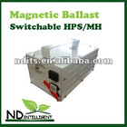 600W SWITCHABLE BALLAST FOR HPS/MH