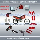 Motorcycle plastic Part body cover Fitting Fairing Lights Lamps for HONDA BROS NXR 125/150