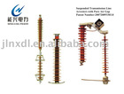 Suspended Transmission Line Arresters with Pure Air