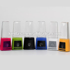 LED Fountain SD Card Speaker