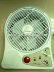 24pcs high power led rechargeable fan