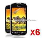 6X HD Clear LCD Screen Protector For HTC Mytouch 4G S910m