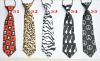 animal print tie/ kids tie/kid tie/zebra tie/boy ties