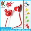 high quality and low price pretty cartoon earphones