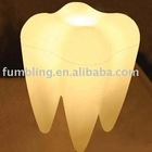 Floor lamp - Tooth design decorative lamp