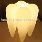Floor lamp - Tooth design decorative lamp