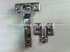 Clip on kitchen cabinet hinge