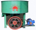 vertical style mixer for charcoal briquette making process