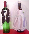 Wedding Wine Bottle Cover wine bottle decoration
