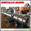Centrifugal casting bimetallic injection barrel and barrel head