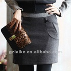 2012 Lady Elegant Formal Worsted Short Skirt