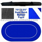 Sure Stick Rubber Layout for Casino Using with Rubber Casino Layout for Poker Table Top ET-103202