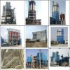 Tower-type dry mortar production line