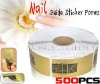 Nail Form Nail Art Tips Extension 500 C-Curve Oval For UV Gel/Acrylic Nails