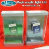 LED cigarette display shelfs