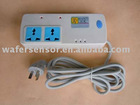 Power socket with GSM remote control