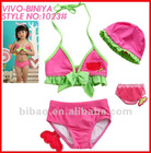 2012 New Lovely Pink Bikini Hot Sexi Girls Photos Swimwear