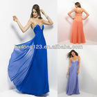 Royal Jeweled Beading Sweetheart Flowy Skirt Dresses For Prom