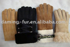 2011 New Styles' Genuine Winter& Spring Sheepskin Gloves--XXL