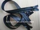 #5 two way open black waterproof zippers