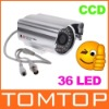 IR Infrared 36 LED Night View CCD Color Security Surveillance CCTV Camera PAL