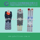 Best quality silicone rubber keypad for tv remote control