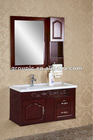 FASHION STYLE WOOD CABINET WITH CERAMIC BASIN (MODEL NO.:826)