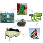High efficiency organic fertilizer production line