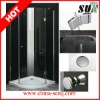 SUN02 Walk In Quadrant Simple Shower Room