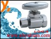 zinc straight stop valve for south america