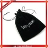 Black Velvet bag for jewelry or gifts packaging