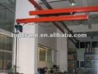 flexible extending suspension crane