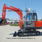 8T Crawler Excavator with 0.4M3 Bucket Capacity
