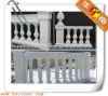 Pure white marble baluster