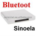 Sinoela Factory supply 30pin connector for Iphone ipod Bluetooth audio transmitter,a2dp bluetooth music receiver,,Patent model!