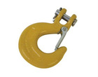 Forged Carbon Steel C Type Clevis Slip Hooks with Latches