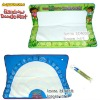 Free ship 1 piece Dora&Diego and rainbow size 90*65CM American Aquadoodle Aqua Doodle Mat&1 Magic Pen/Water Drawing Replacement