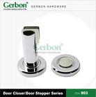 high quality zinc alloy floor door stop & door stopper