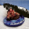 PVC inflatable snow sled