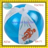 2012 Newly hot sale plastic pvc air inflatable beach ball 16""