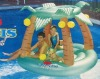 Island Inflatable Swimming Pool Float Raft