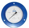 Axial Pressure Gauge with flank