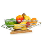 Bamboo fruit container