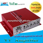 12V Mini amplifier USB/ small car amplifier YT-V10