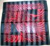 Scarf / satin square scarf