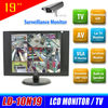 Porfessional 19 inch cctv lcd monitor with AV VGA input