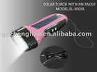 Solar Power 6 LED Flashlight LIGHT Lamp Torch Durable (LK-3005)