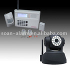 IP camera/web camera with gsm alarm ip camera works with alarm panel hom alarm system